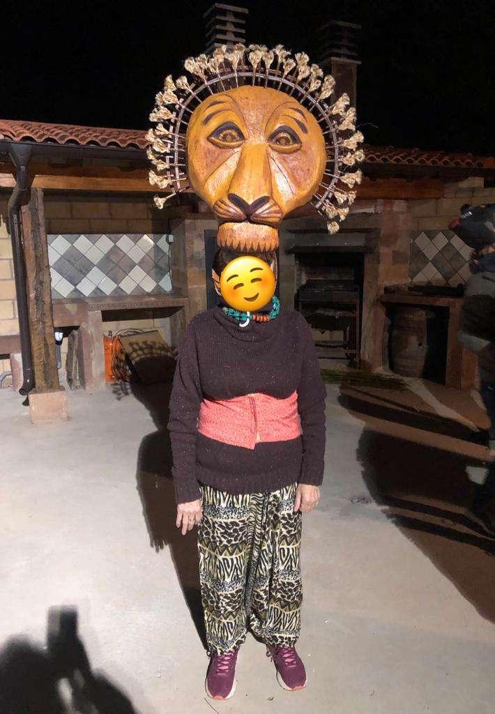 Imagen producto Disfraz Rey León para 11 personas 10