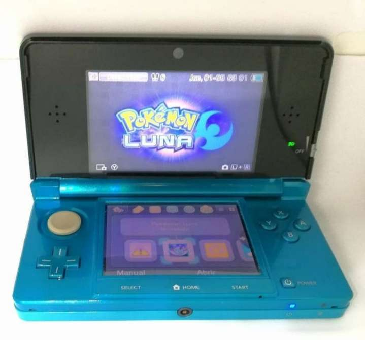 Imagen producto Nintendo 3DS Azul + Cargador 2