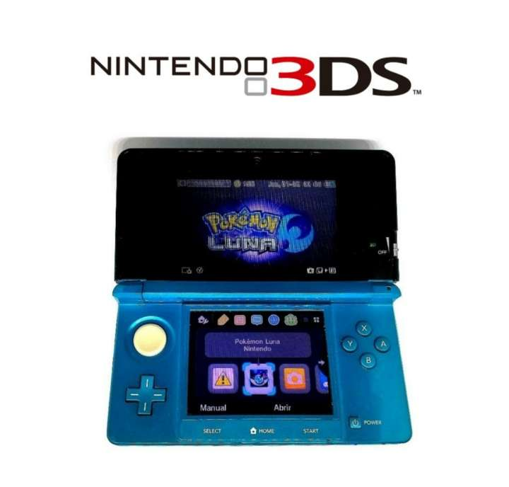 Imagen Nintendo 3DS Azul + Cargador