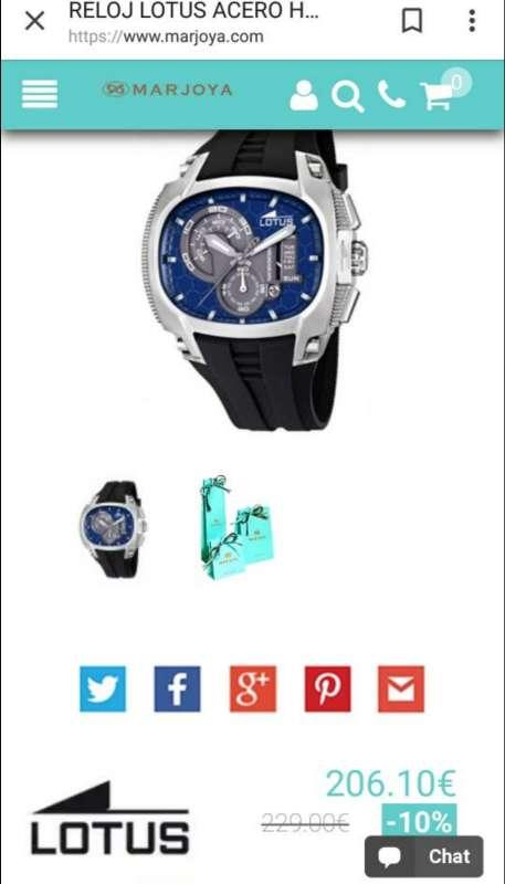 Imagen producto ¡¡OFERTA!! Reloj LOTUS Tornado Original Semi-Nuevo 8