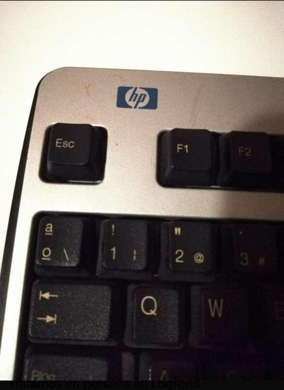 Imagen producto Teclado De Ordenador HP KU-0133 4