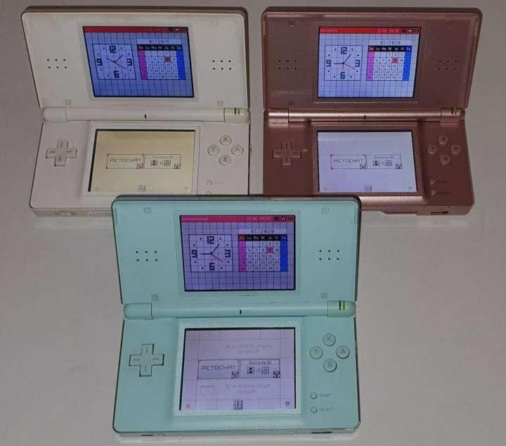 Imagen producto Súper Lote De 3 Nintendo DS Lite + 2 Cargadores 3