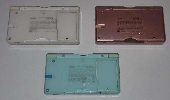 Imagen producto Súper Lote De 3 Nintendo DS Lite + 2 Cargadores 2