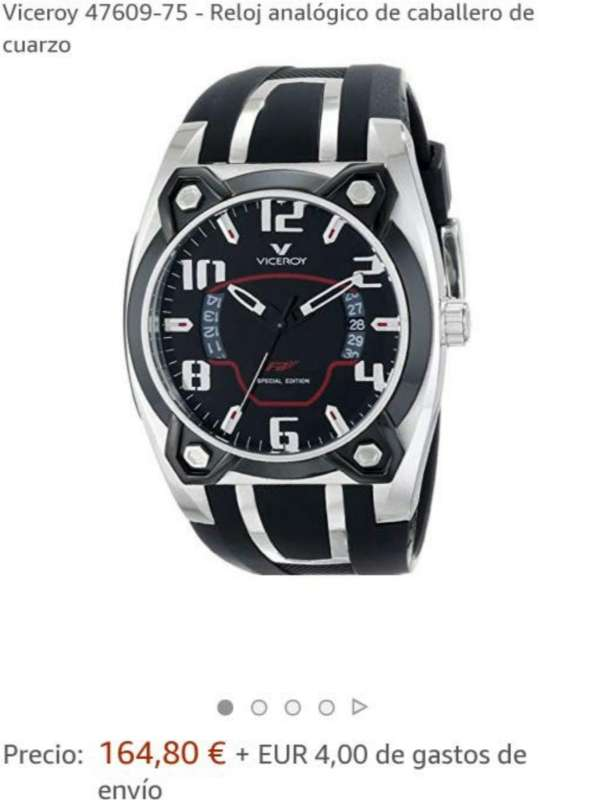 Imagen producto Reloj VICEROY Fernando Alonso Original 3