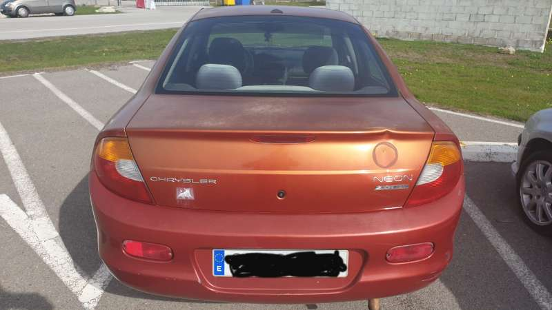 Imagen producto Chrysler neon [Color naranja] 4