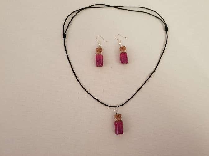 Imagen producto Vendo  conjunto de collar y pendiente  3