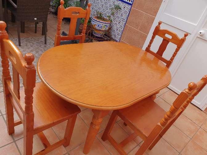 Imagen Mesa Provezal+ 4 sillas