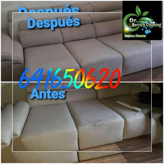 Imagen Limpieza de sofá colchones moqueta sillas alfombra a domicilio