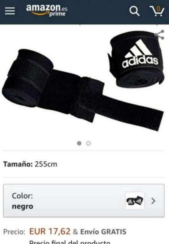 Imagen producto Guantes + Vendas Adidas 10Oz 3