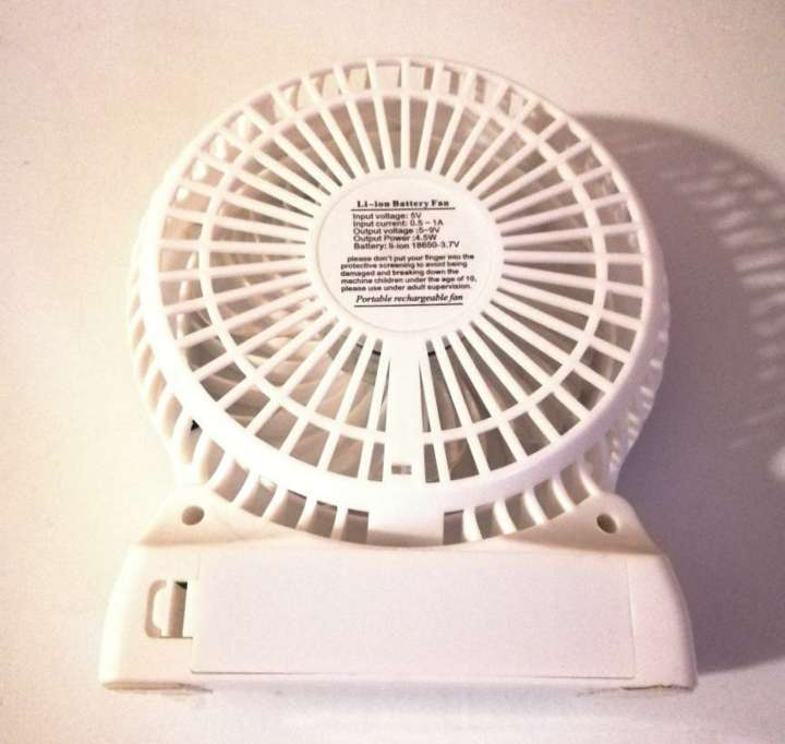 Imagen producto Mini Ventilador Portátil Recargable 3