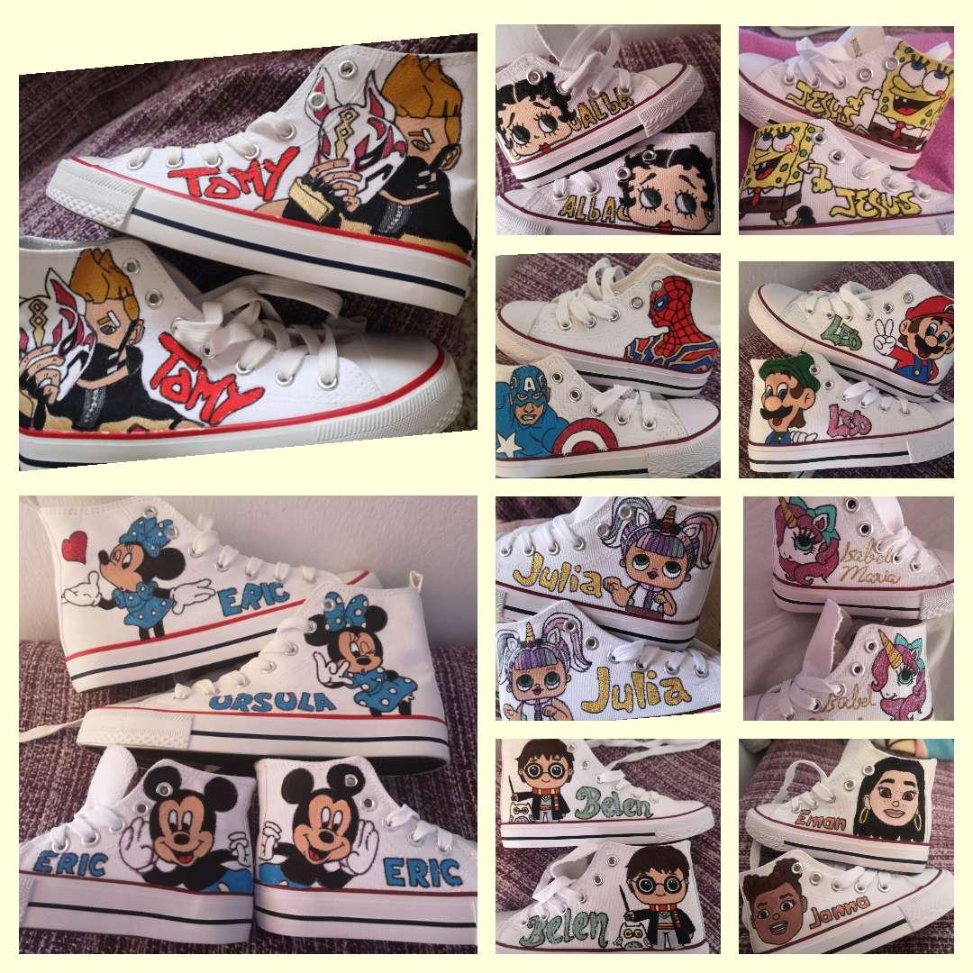 Imagen  botas personalizadas!! Pintadas a mano escoge tu diseño