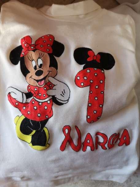 Imagen camisetas personalizados!! Cumpleaños