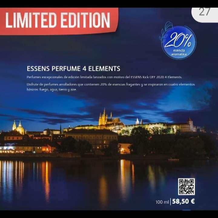 Imagen Perfumes 4 elementos. Edición limitada