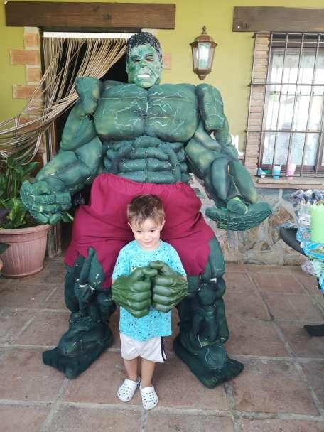 Imagen Hulk en tu fiesta de cumpleaños