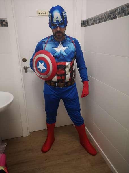 Imagen capitán América en tu fiesta de cumpleaños