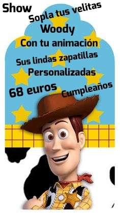 Imagen Woody en tu fiesta de cumpleaños