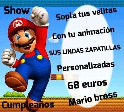 Imagen Mario bross en tu fiesta de cumpleaños