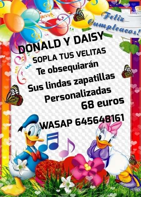 Imagen DAISY Y DONALD