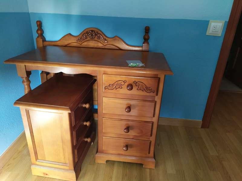Imagen dormitorio de madera