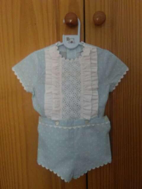 Imagen traje de vestir bebe