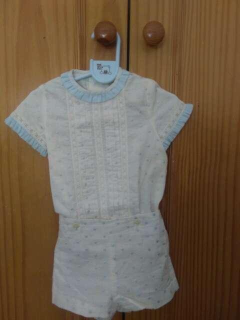 Imagen traje de vestir niño
