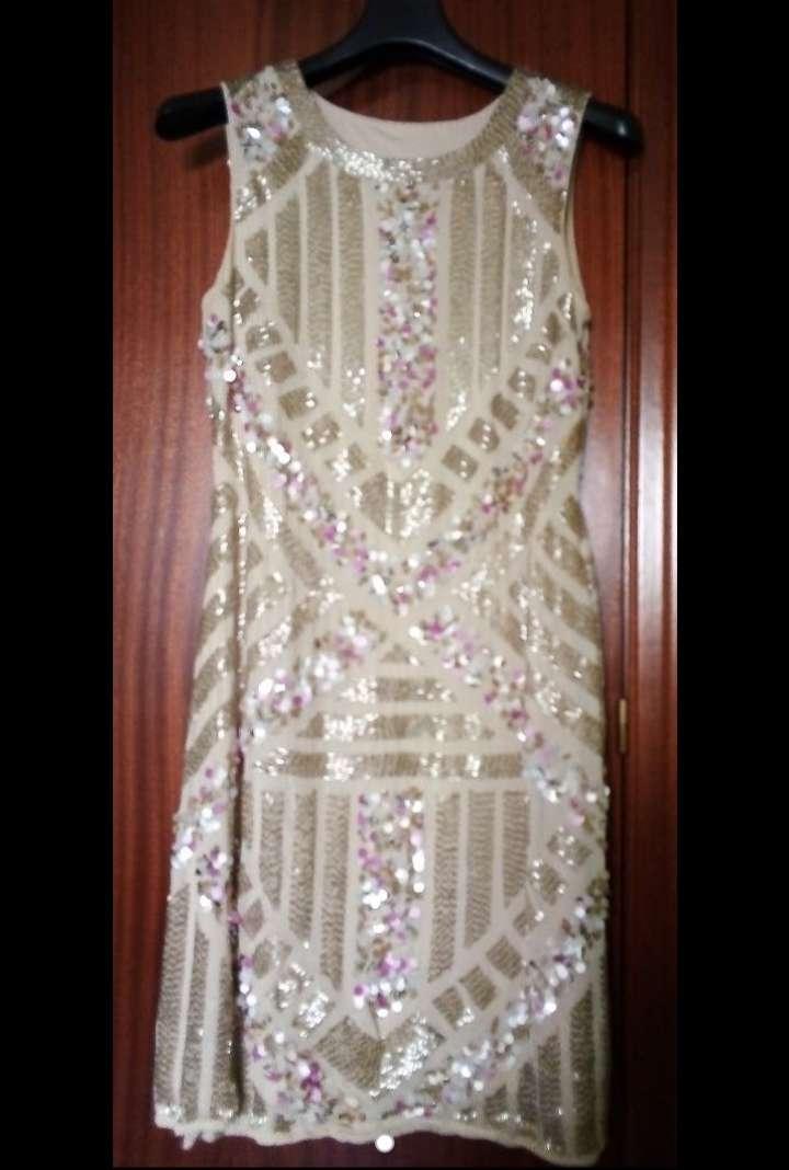 Imagen producto Vestido de lentejuelas muy elegante sólo extrenado para la boda de mi hija. Talla M.  1
