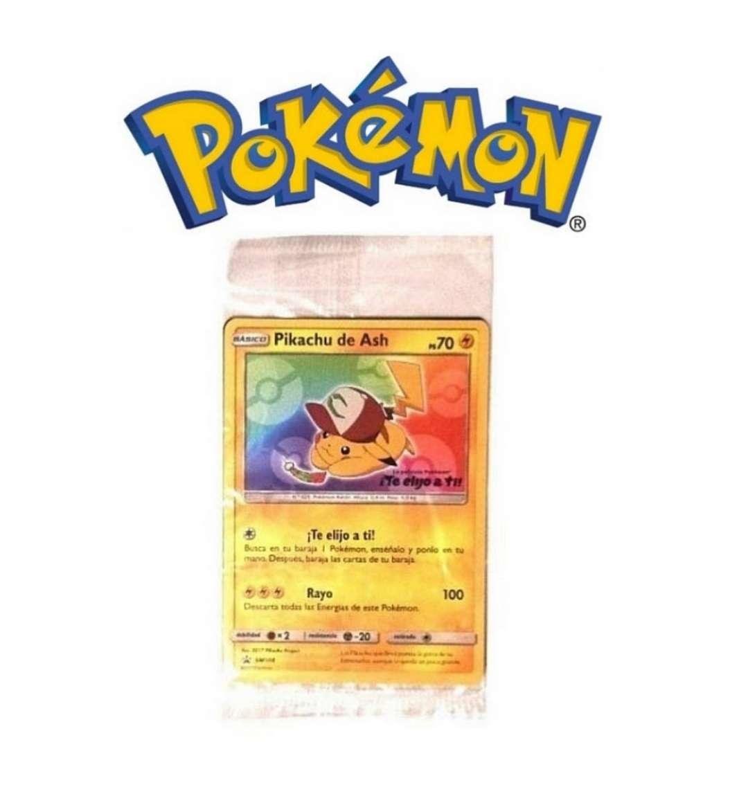 Imagen Cartas Pokémon Pikachu Te Elijo A Tí Sin Abrir JCC