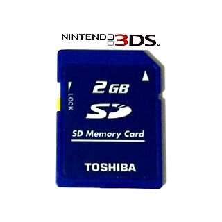 Imagen Tarjeta De Memoria Nintendo 3DS 2GB