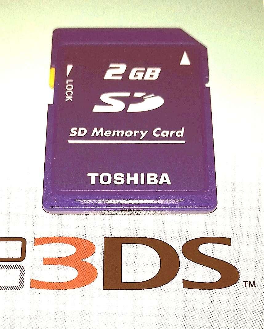 Imagen producto Tarjeta De Memoria Nintendo 3DS 2GB 2
