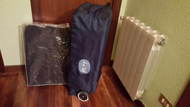 Imagen producto Cuna de viaje y colchon Visco 2