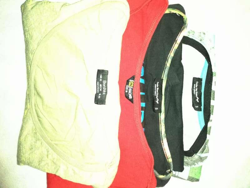 Imagen producto Lote De 4 Camisetas Sin Mangas Bershka Y Más 3