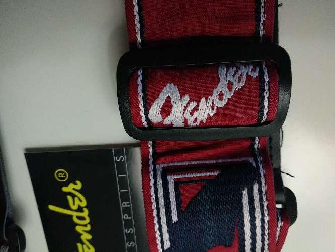 Imagen producto Correa Fender clásica nueva 5