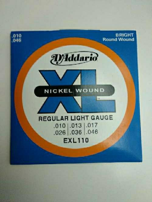 Imagen producto 3 juegos Cuerdas guitarra D'addario. a elegir 2