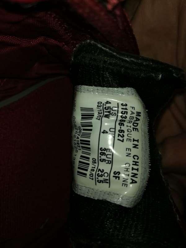Imagen producto Zapatillas NIKE Ronaldinho Número 36.5 9