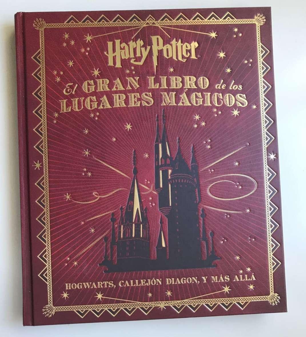 Imagen Libro lugares harry potter