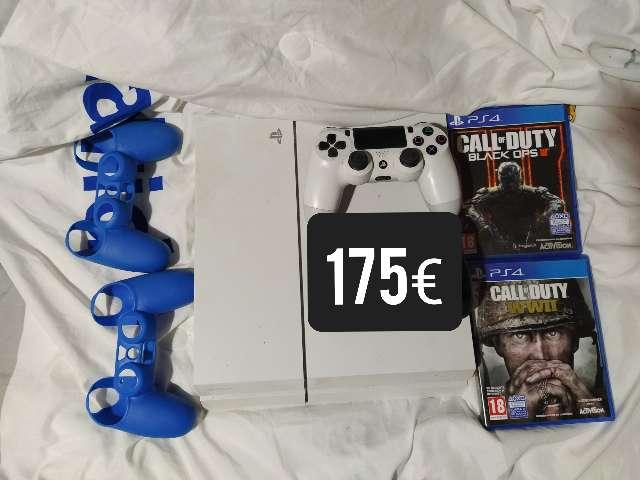 Imagen Vendo PS4 ORIGINAL DE 500GB