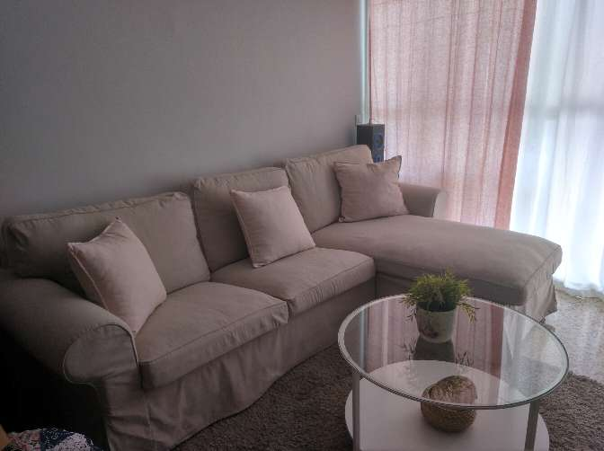 Imagen Sofá 3 plazas + chaiselongue