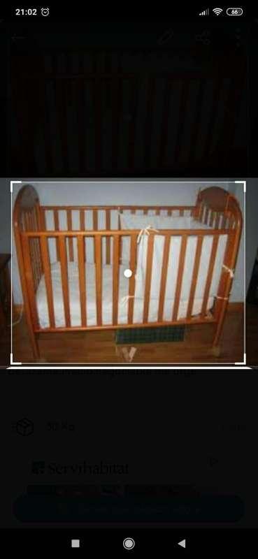Imagen cuna para bebe