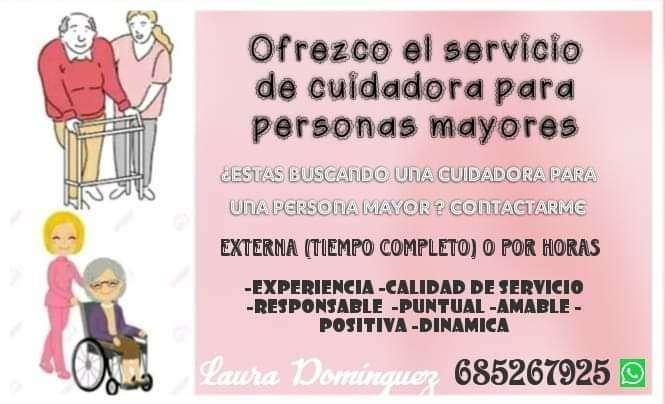 Imagen Servicio de CUIDADORA