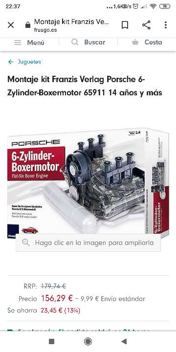 Imagen Franzis Porsche 6-Zylinder-Boxermotor - Flat-Six B