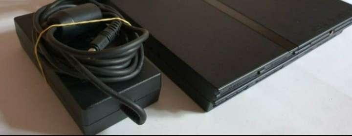 Imagen producto Videoconsola Ps2 PlayStation Slim + Lote De Regalo 3