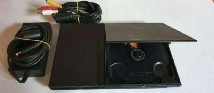 Imagen producto Videoconsola Ps2 PlayStation Slim + Lote De Regalo 4