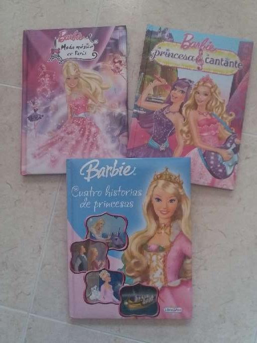 Imagen Lote 3 libros de Barbie