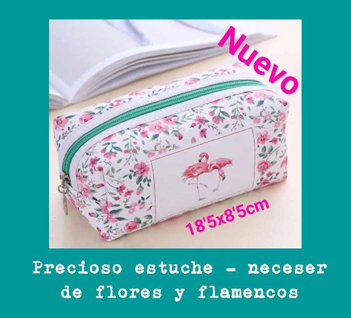 Imagen Precioso estuche - neceser de flamencos