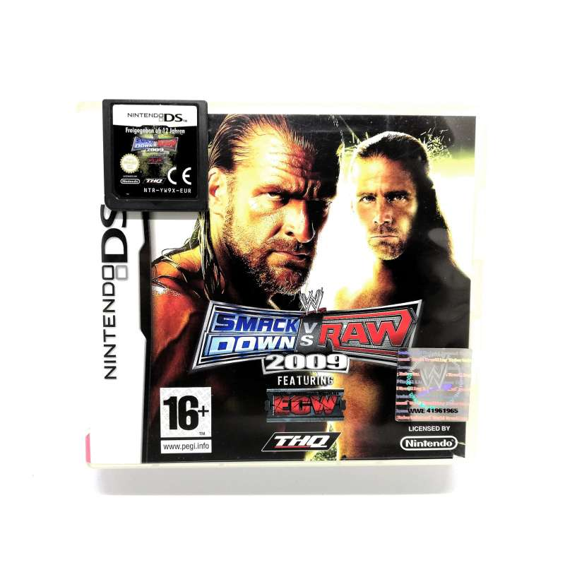 Imagen producto WWE SmackDown Vs Raw 2009 Para Nintendo DS 1