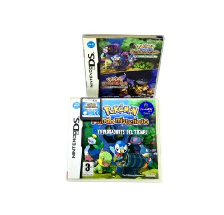 Imagen Pokémon Mundo Misterioso Exploradores Del Tiempo