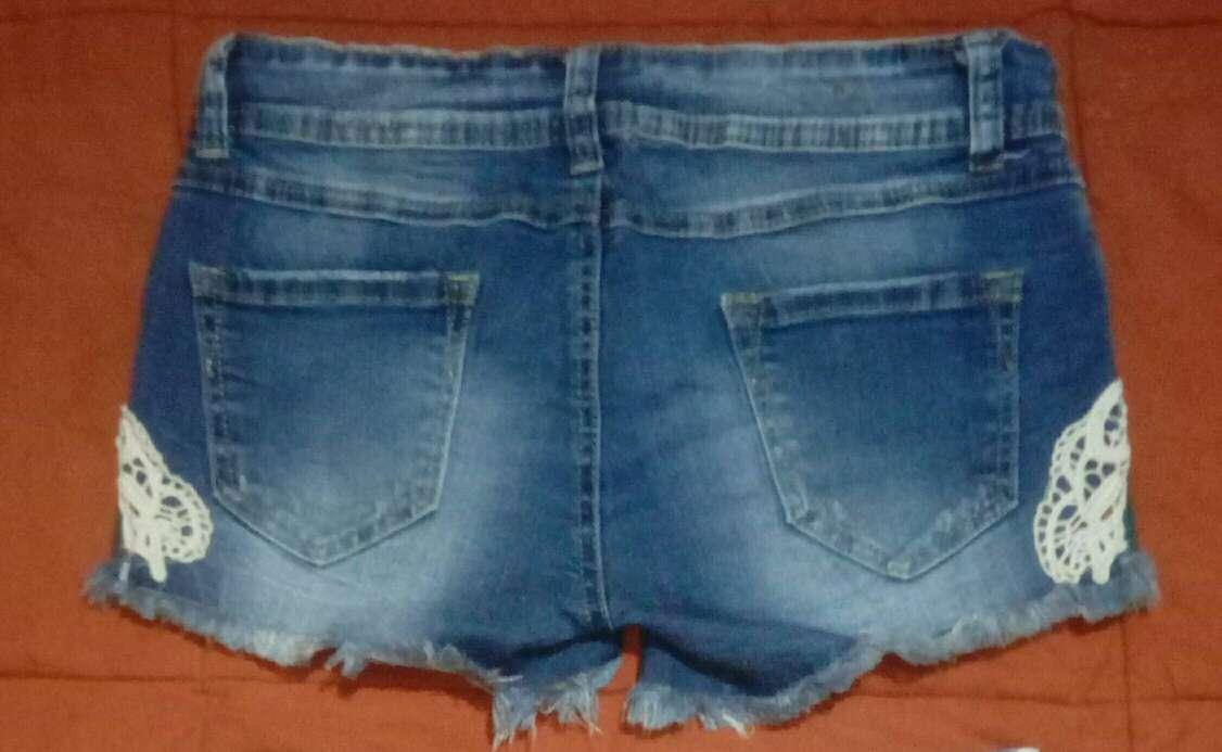 Imagen producto Lote pantalón corto y falda vaquera  2