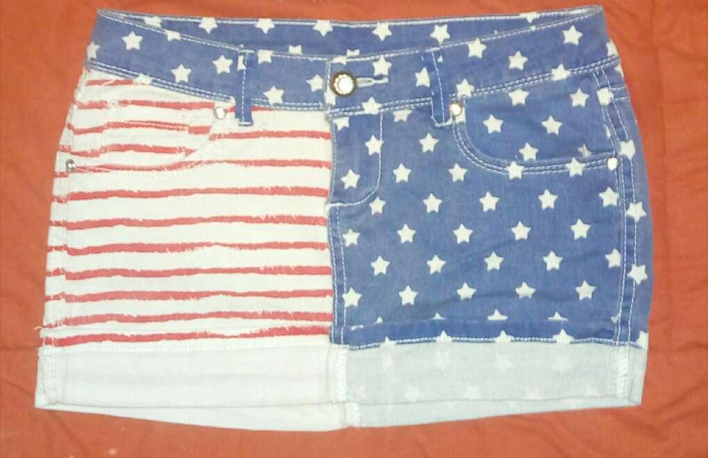 Imagen producto Lote pantalón corto y falda vaquera  3