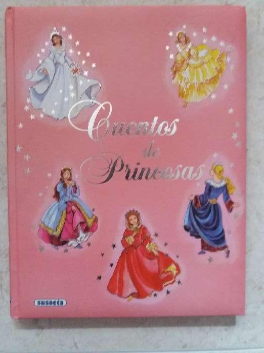 Imagen Libro con 6 cuentos de princesas