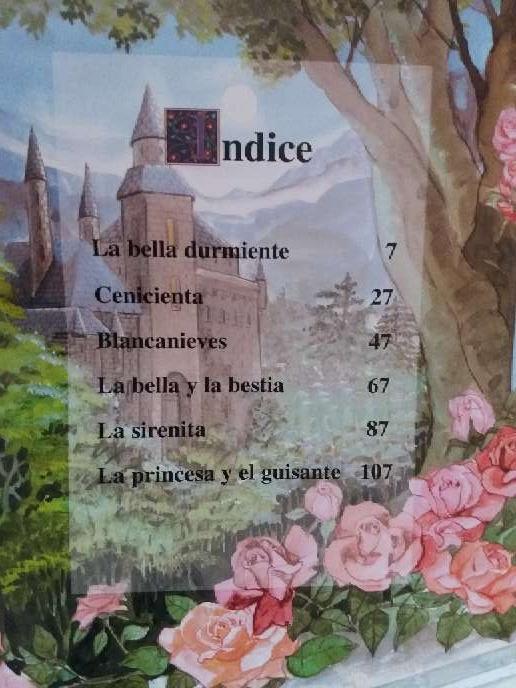 Imagen producto Libro con 6 cuentos de princesas 3